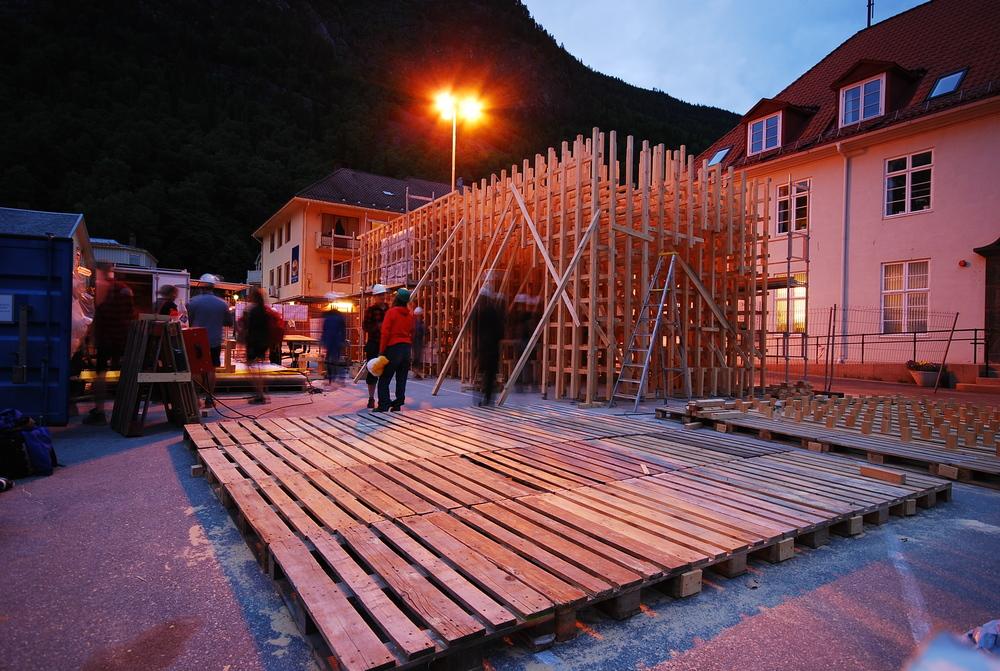 Alle sjikta er oppe. Foto: Kristian Godø Eliassen
