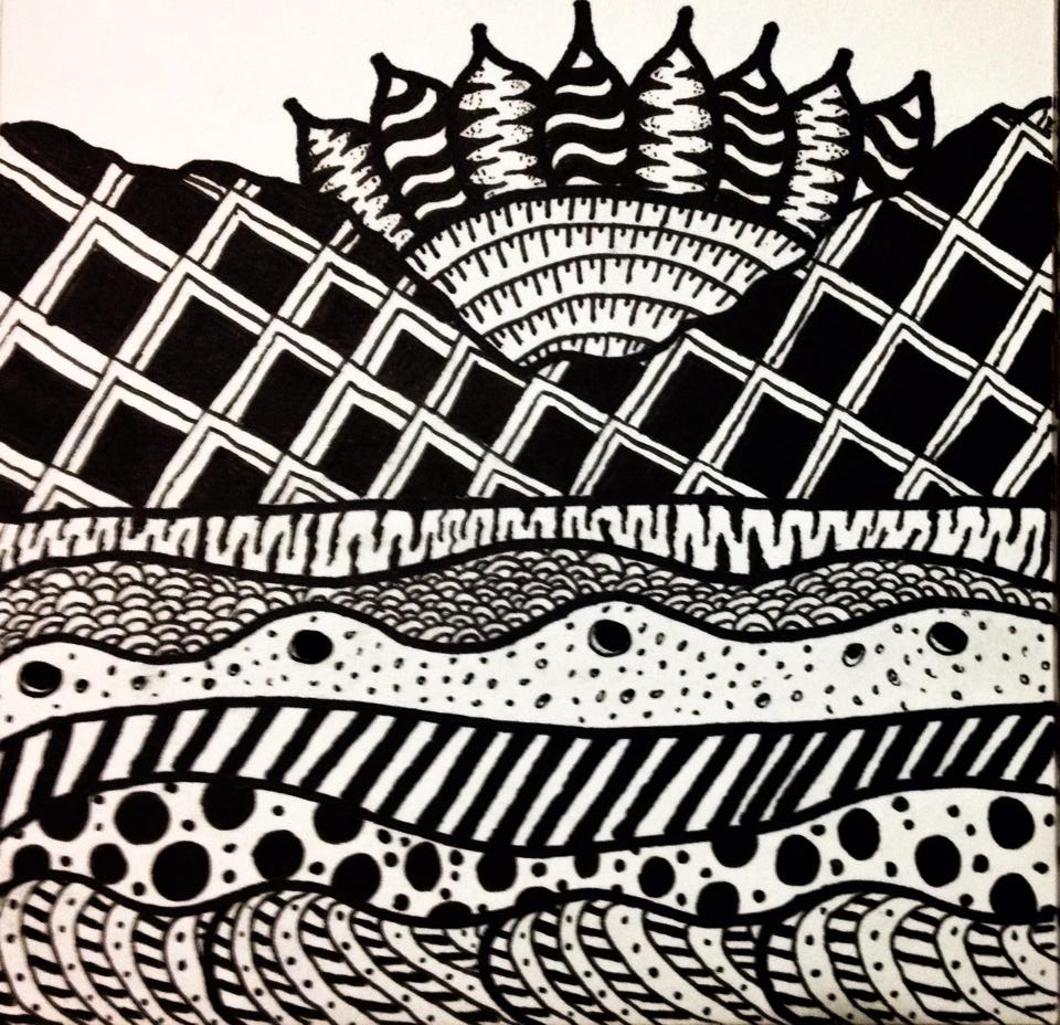Puerto_Vallerta_Sunset_Zentangle.jpg