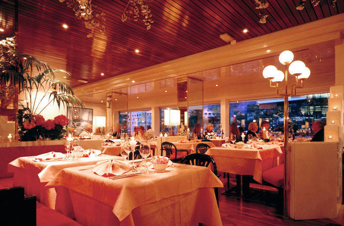 Das Restaurant fino in Meran