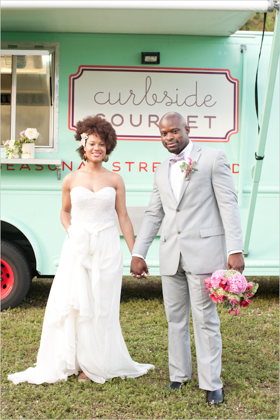 See full post on http://www.weddingchicks.com/2012/03/29/bohemian-food-truck-wedding/