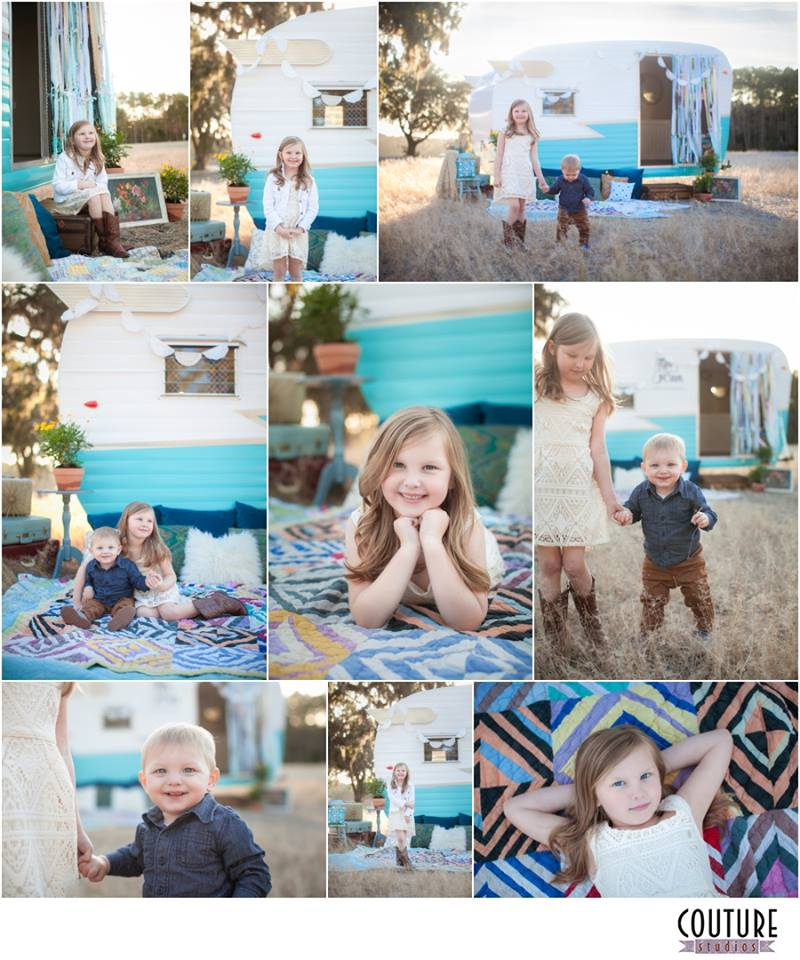 I loved styling for  Couture Studios ' mini sessions. Lucky for me my kids got to be in the photos too!