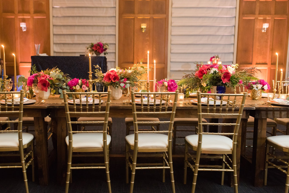 Caroline & Evan Photography    Design by  Flaire Weddings,  Florals by  Shea Hopely,  Rentals by  Set Event Rentals