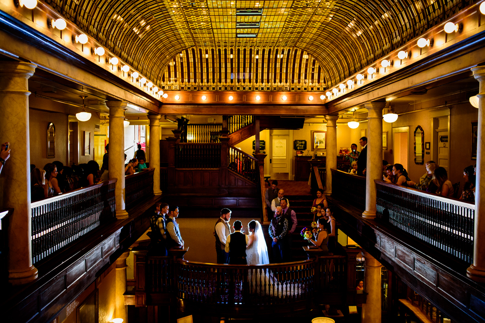 Hotel Boulderado wedding in Boulder, CO