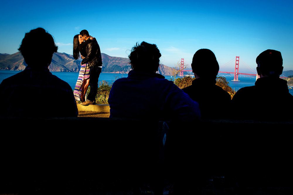 Lands End engagement session in San Francisco, CA