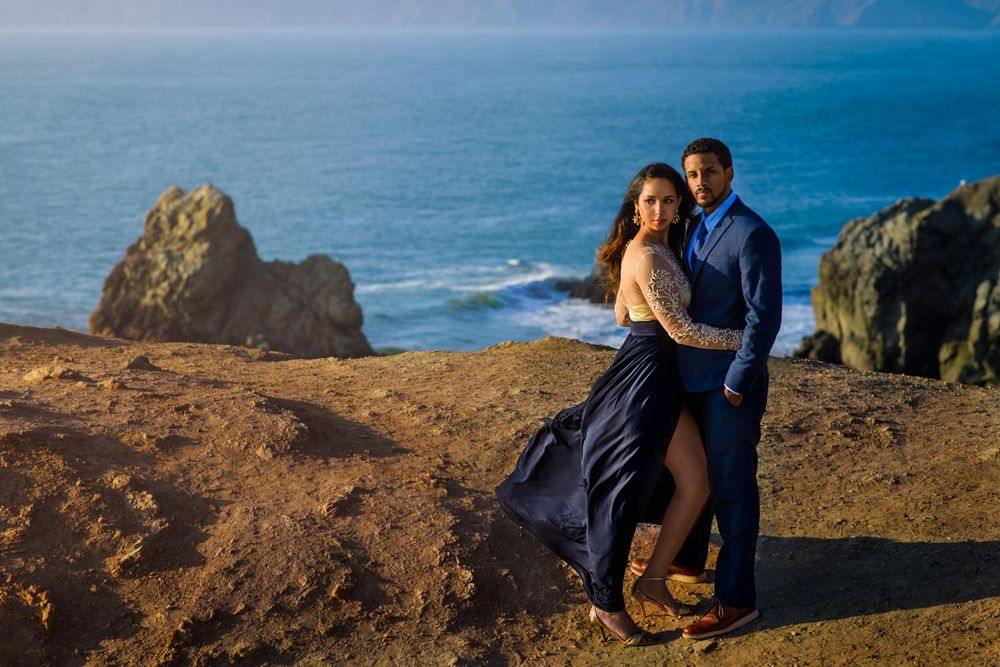 Brittani and Stephen's Sutro Baths engagement session in San Francisco, CA