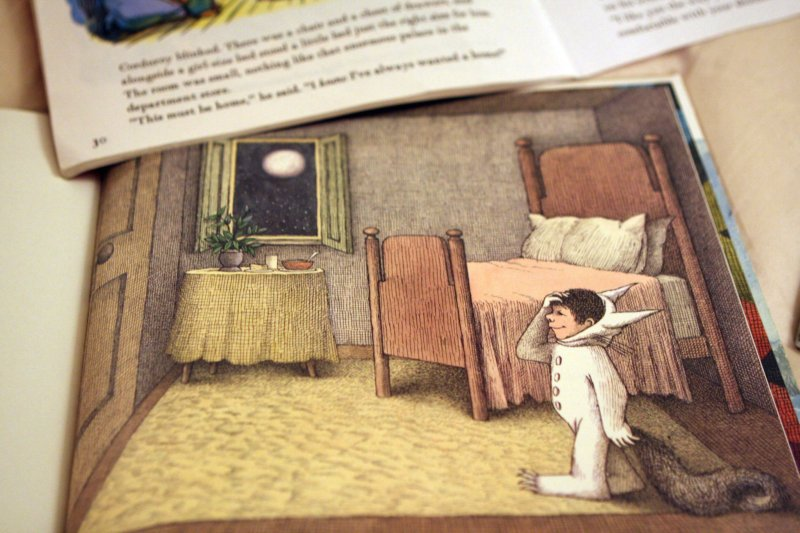 Detail from  Where The Wild Things  Are by Maurice Sendak. All photos by Rascher Marie Alcasid.