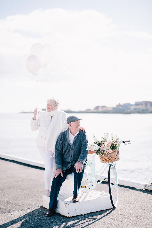 Ben Yew Photographer of Elderly Couple in Love