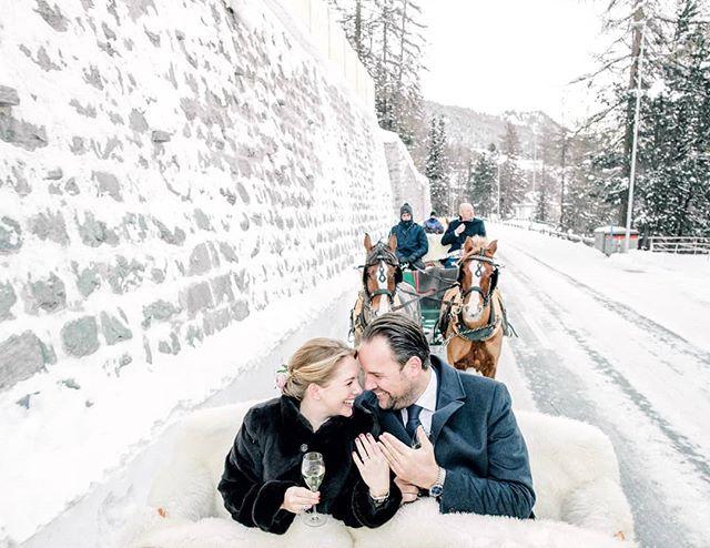 A romantic winter wedding at #stmoritz #switzerland🇨🇭 😍 with Catherine & Alex . . #swissalps #swisswedding #switzerland #winterwedding #horsecarriage #destinationwedding #europeanweddings #destinationphotography #married #love #travelphotographer #whitewedding #snow #snowywedding #winterwedding #winterweddingphotos #swissphotographer #freezingweather #filmphotographer #fineartcuration #weddingplanner #weddingstylist #fuji400hpro #contax645 #nikon #marthastewartweddings #fineartweddingphotography