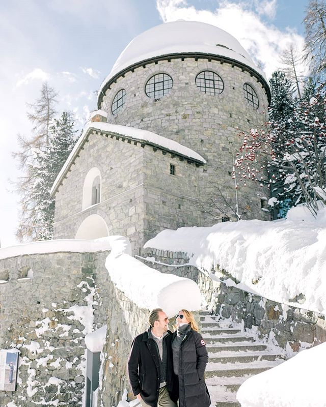 "❄""Snowflakes are like kisses from heaven"" ❤ .  WInter Photography session at #stmoritz #switzerland🇨🇭 😍 with Catherine & Alex . . #swissalps #swisswedding #switzerland #winterwedding #horsecarriage #destinationwedding #europeanweddings #destinationphotography #married #love #travelphotographer #whitewedding #snow #snowywedding #winterwedding #winterweddingphotos #swissphotographer #freezingweather #filmphotographer #fineartcuration #weddingplanner #weddingstylist #fuji400hpro #contax645 #nikon #marthastewartweddings #fineartweddingphotography #kiss #romantic"