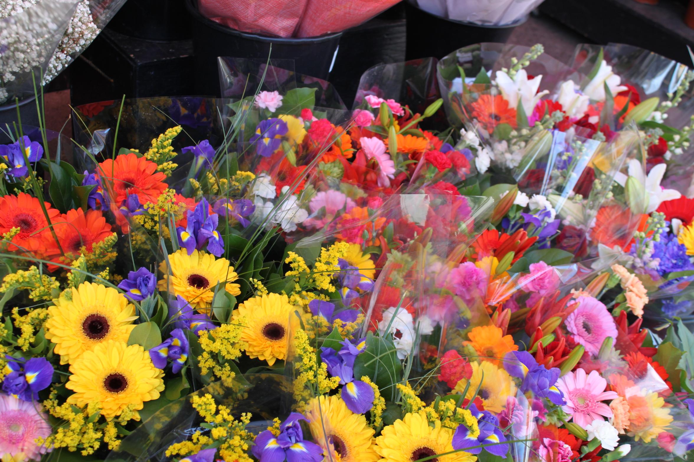 Flower Vendor Vancouver