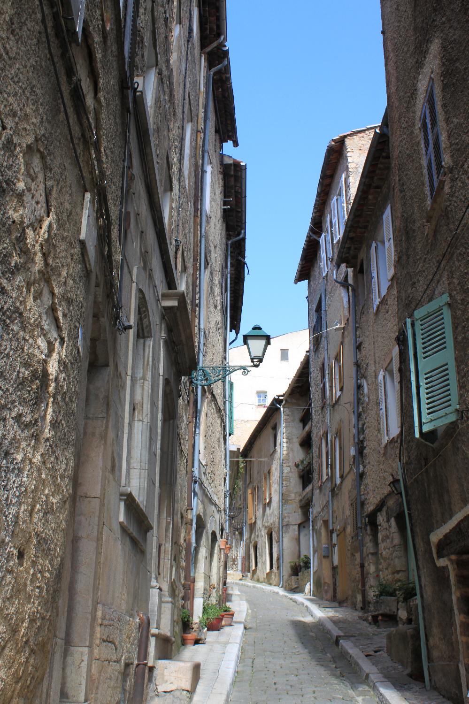 Narrow Streets Provence Seillant