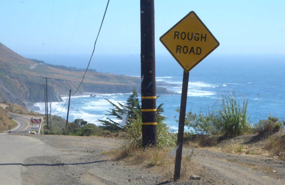 Rough Road highway 101