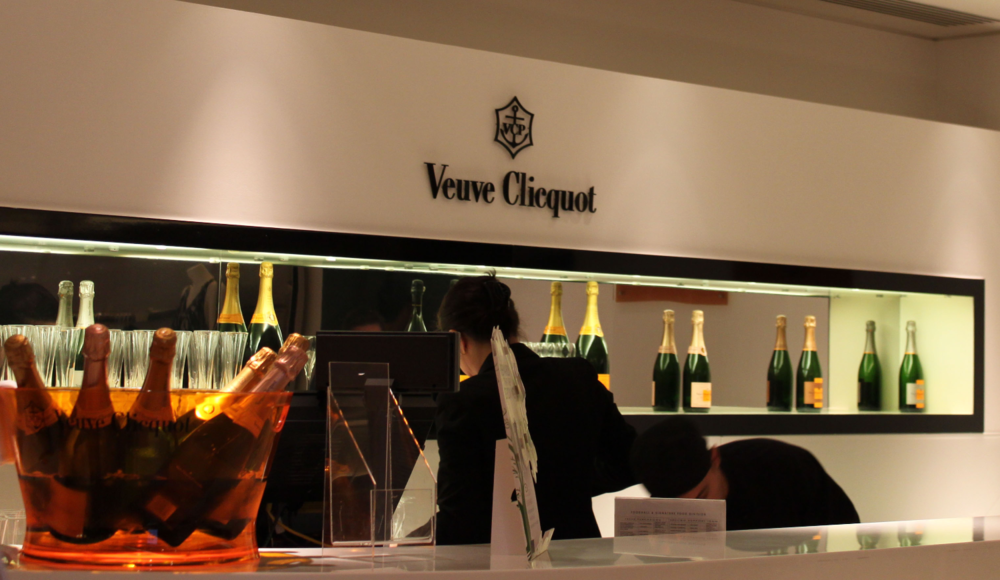 Harrods Champagne Bar