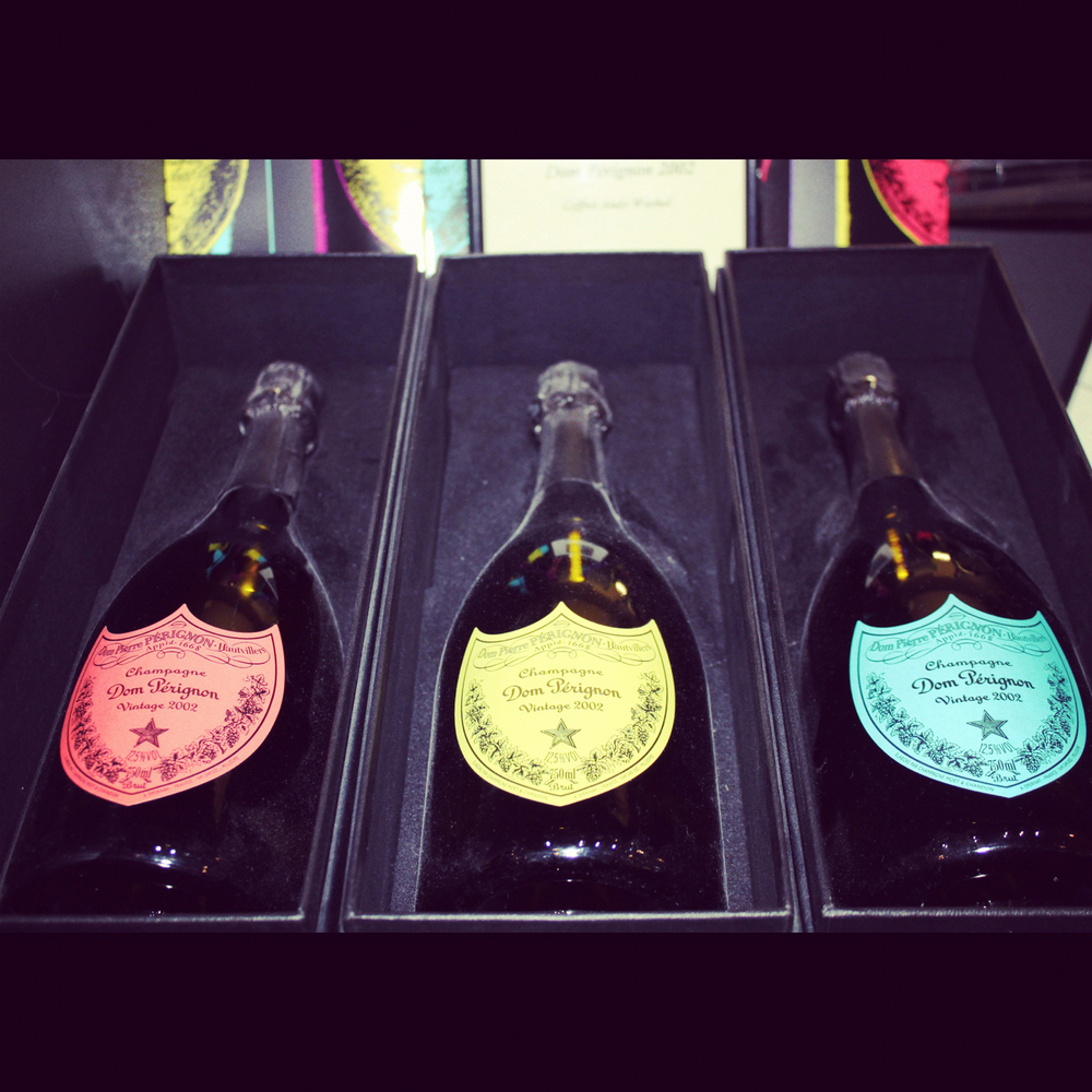 What's your color?  Moet & Chandon, Épernay, Champagne.