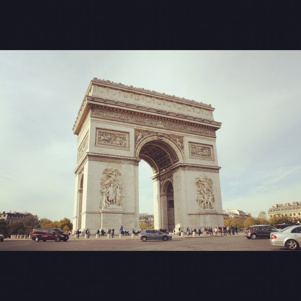 Nor this one... L'Arc de Triomphe.