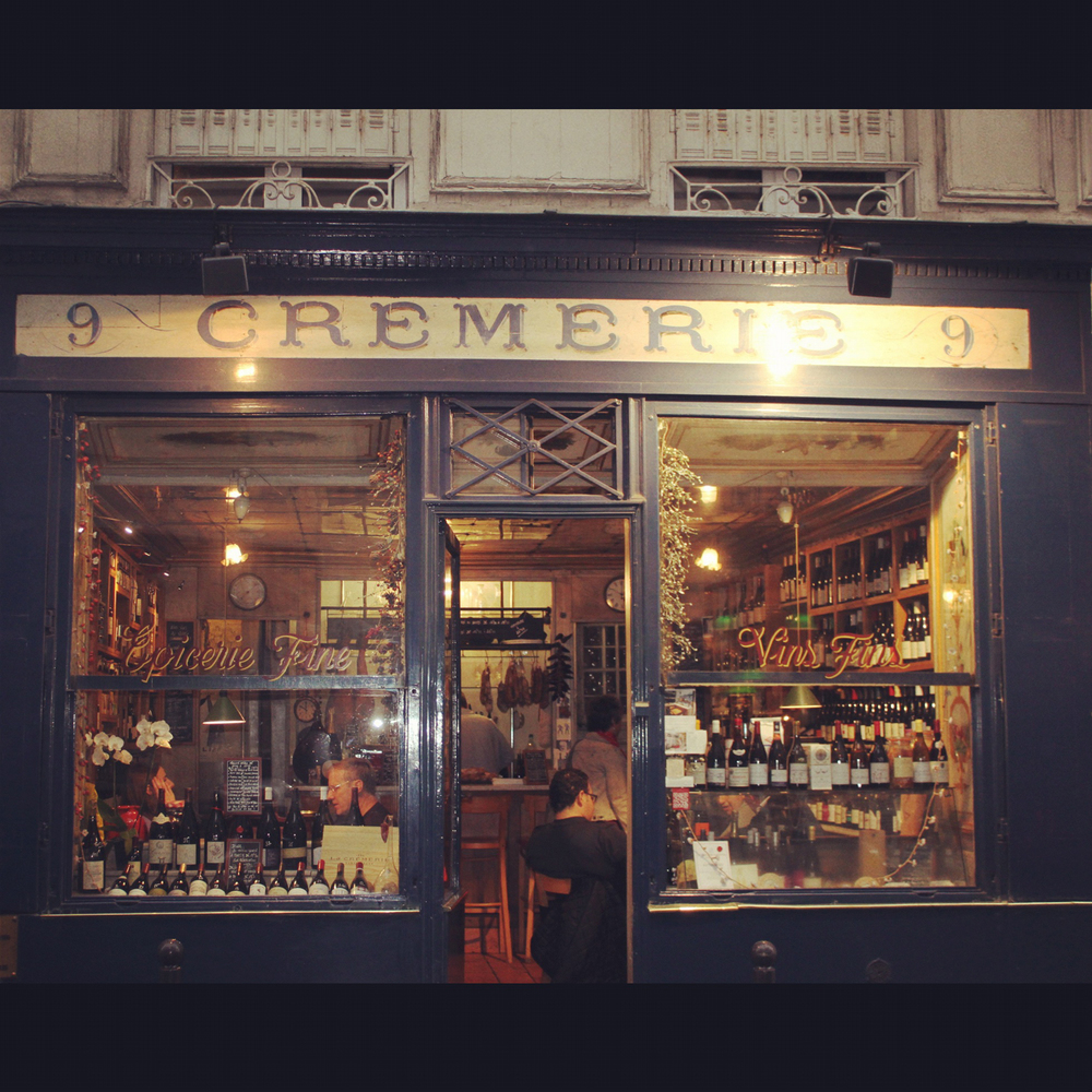 Wine tasting at La Crèmerie, L'Odeon, Paris