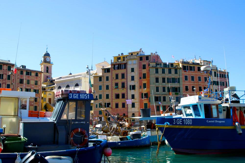Camogli Harbour.