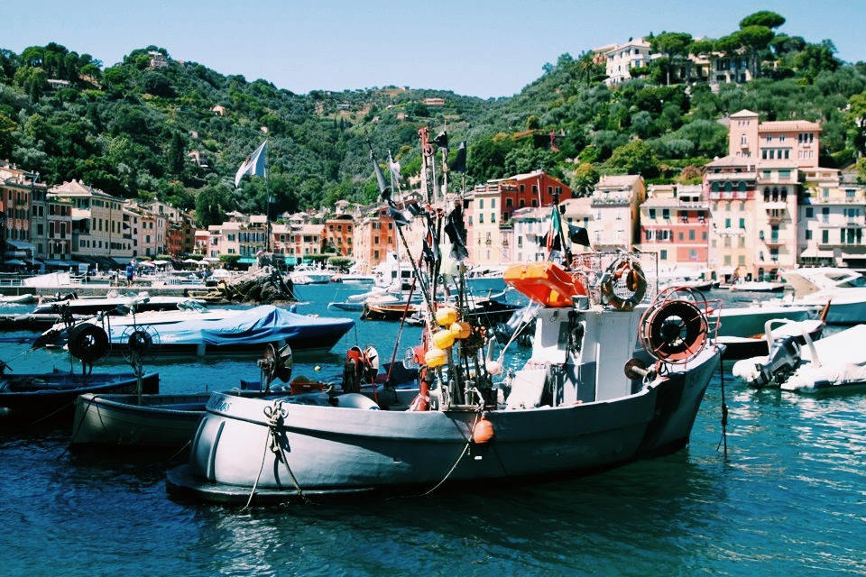 Fishing boat Portofino.