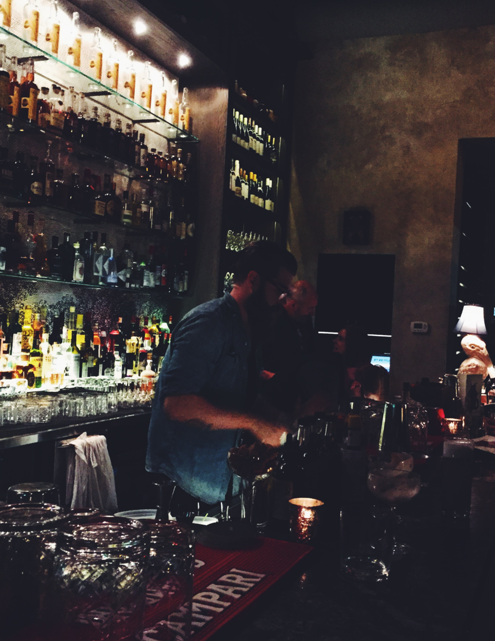 Best new watering hole in town: Proof Cocktail Bar.