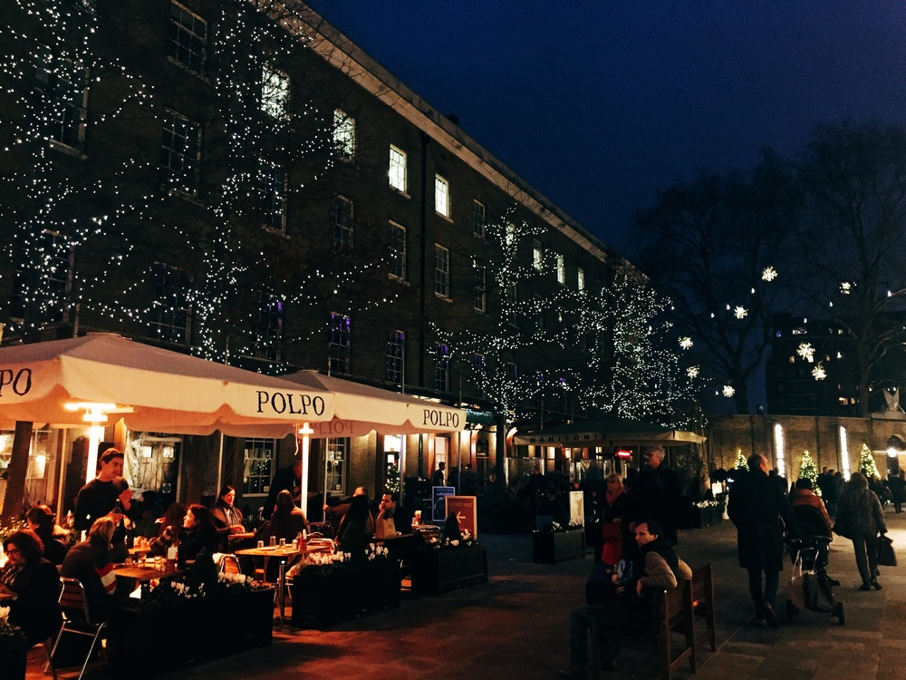 Shopping in Sloane Square, Chelsea, and Polpo restaurant.