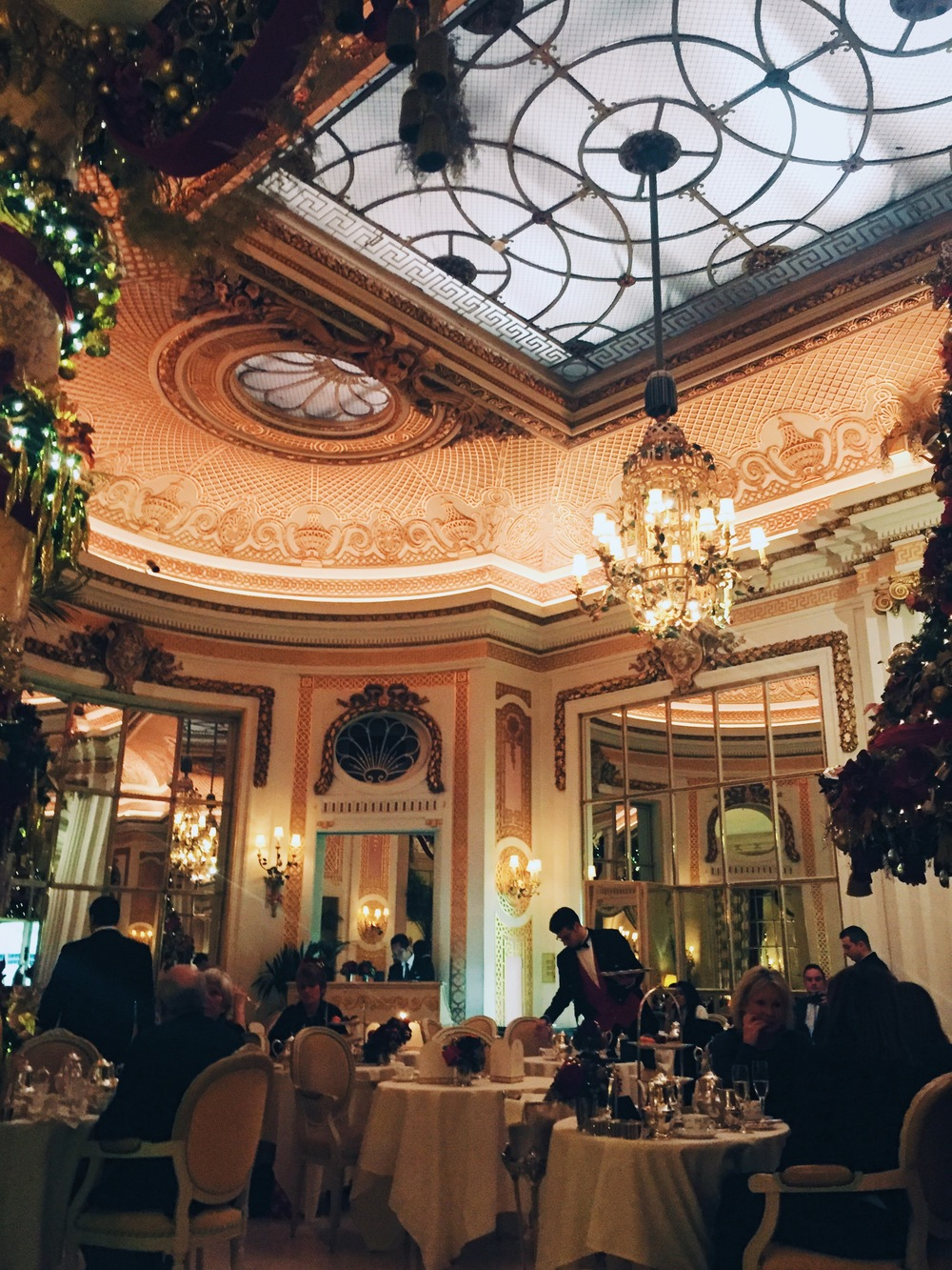 High Tea at The Ritz, Mayfair.