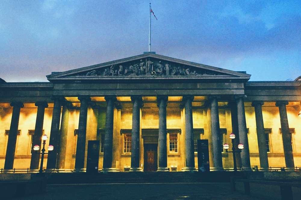 The British Museum, Bloomsbury.