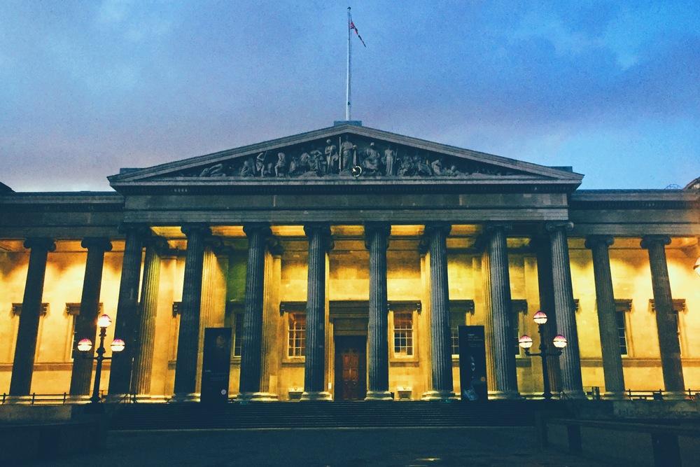 The British Museum, Bloomsbury.