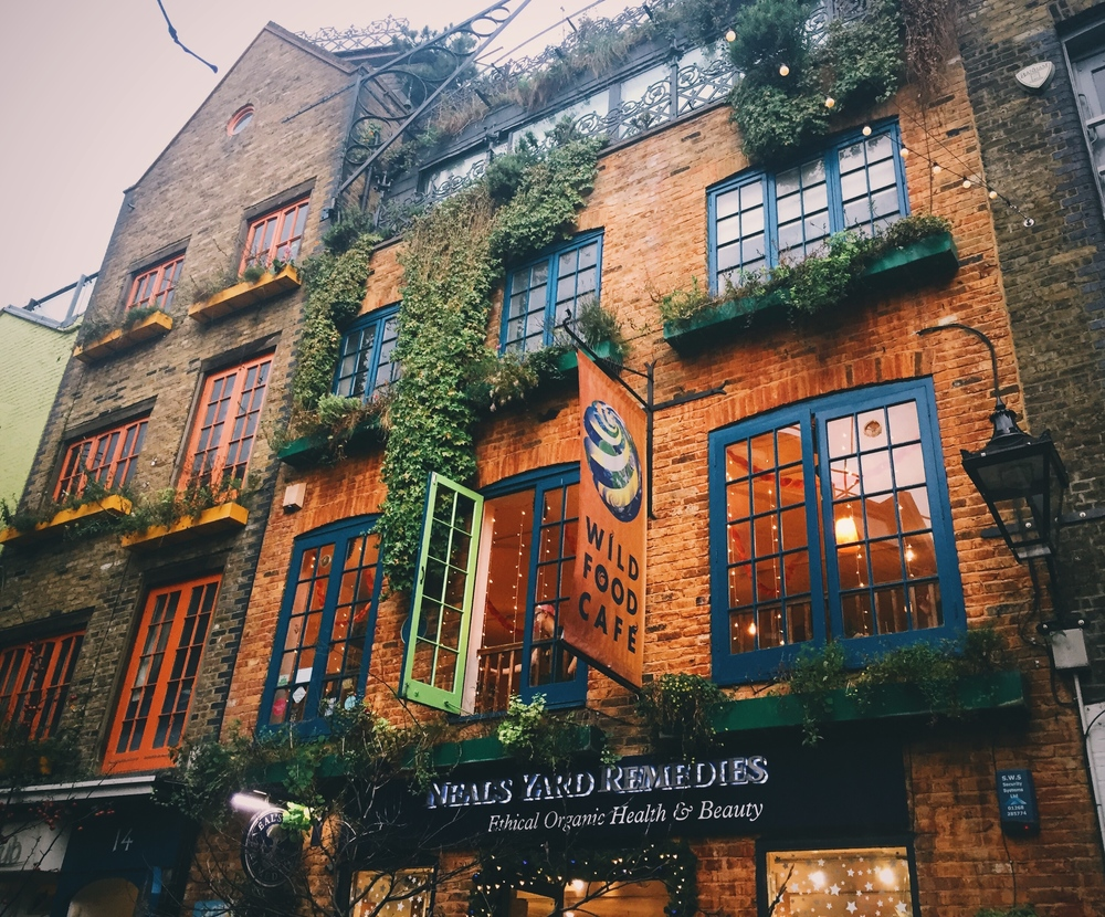 Neal's Yard Remedies, Covent Garden.