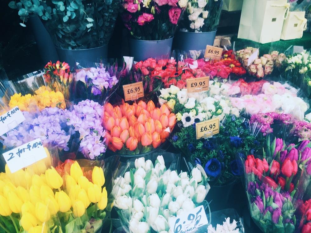 Sunday Flowers, Regent's Park Road, Camden.
