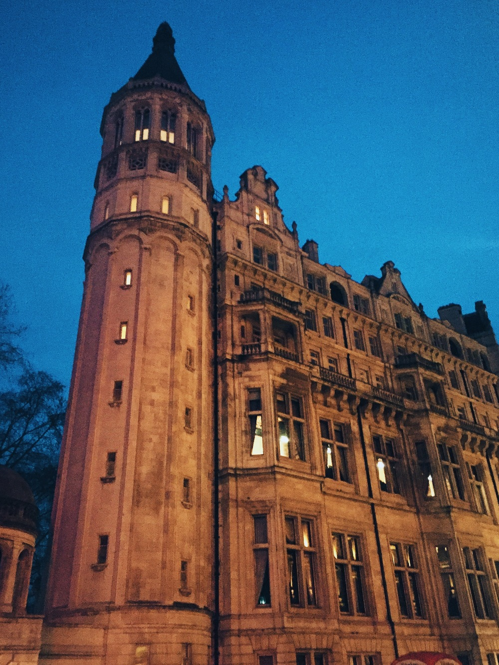 Just another old building...Embankment.