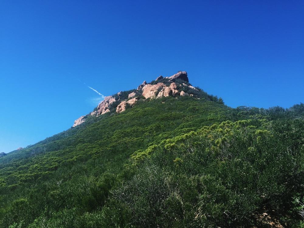 Sandstone Peak Trail, Malibu.