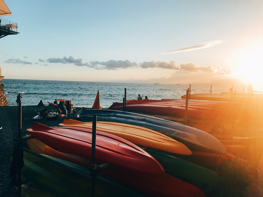kayaks camogli