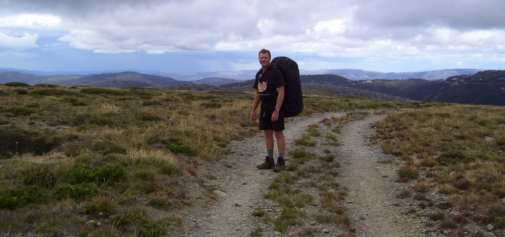 Easter 2008 - Bogong High Plains in the background