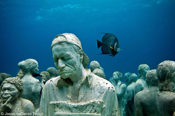 MUSA 海底雕塑博物館. Image Source: MUSA Cancun. © Jason deCaires Taylor
