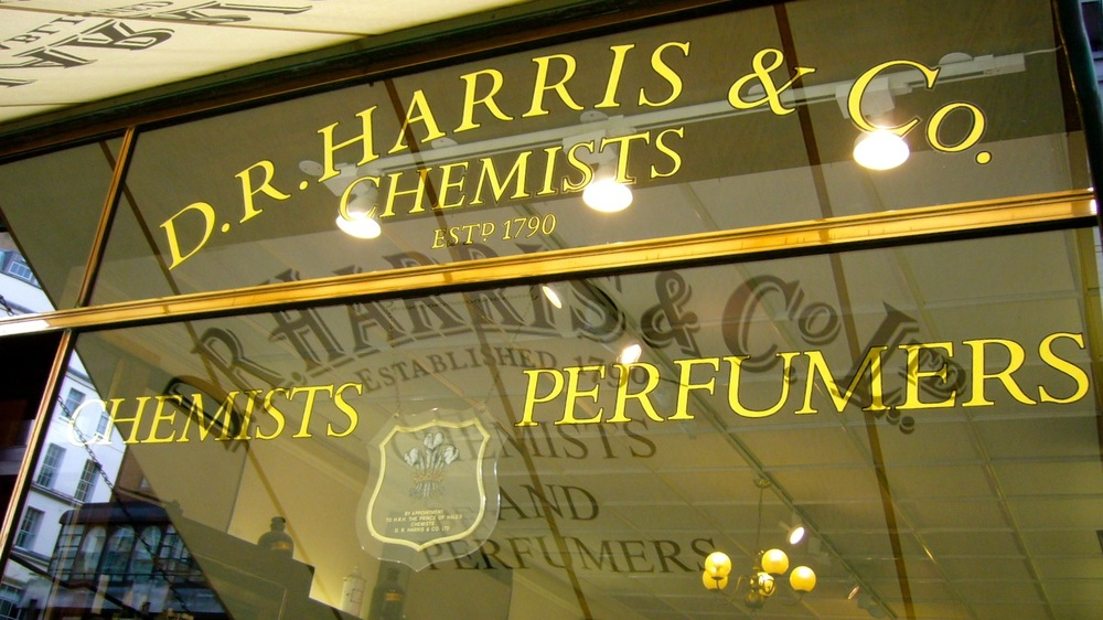D.R. Harris & Co. was established during King George III's reign.