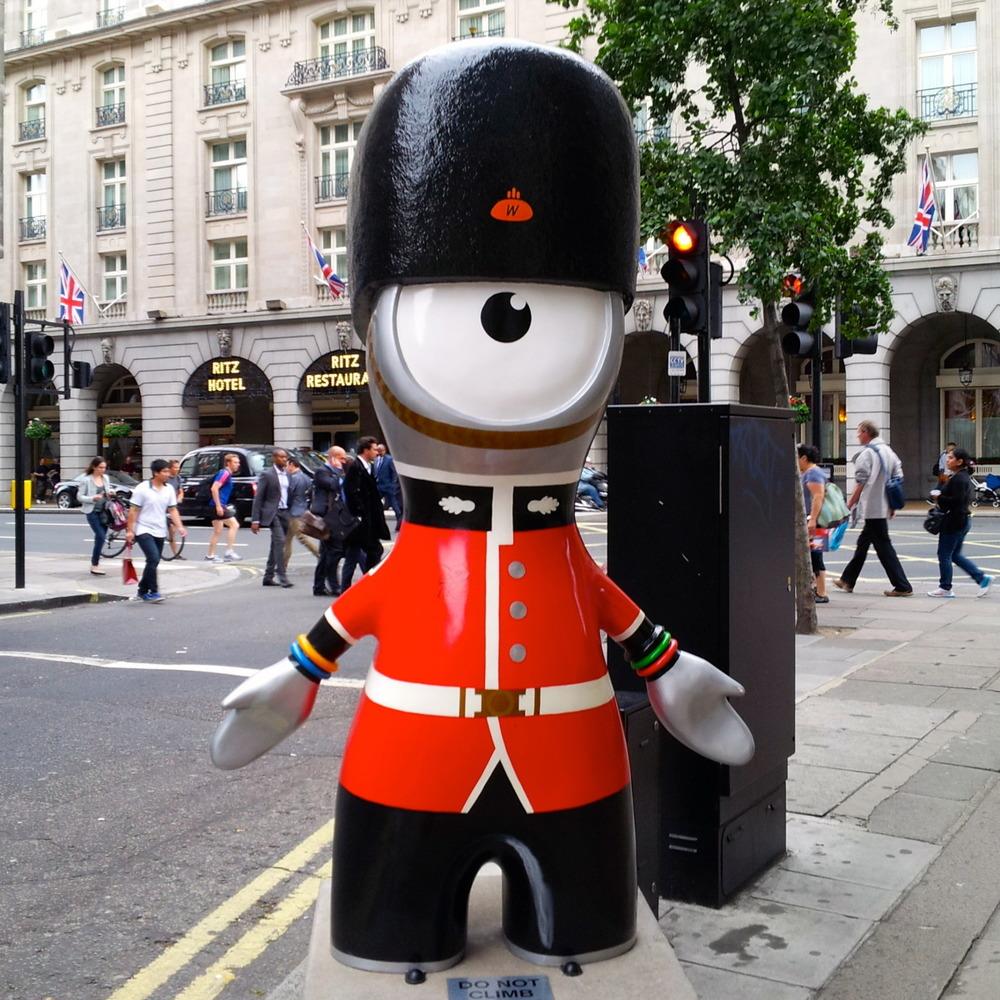 The Queen's Guard Wenlock