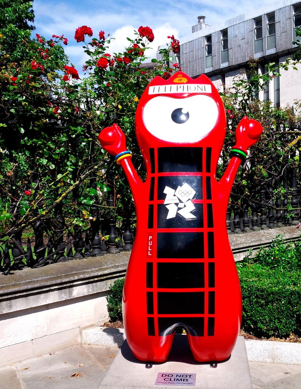 Telephone Box Wenlock