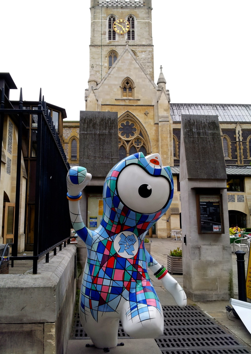Stainless Glass Wenlock at Southwark Cathedral