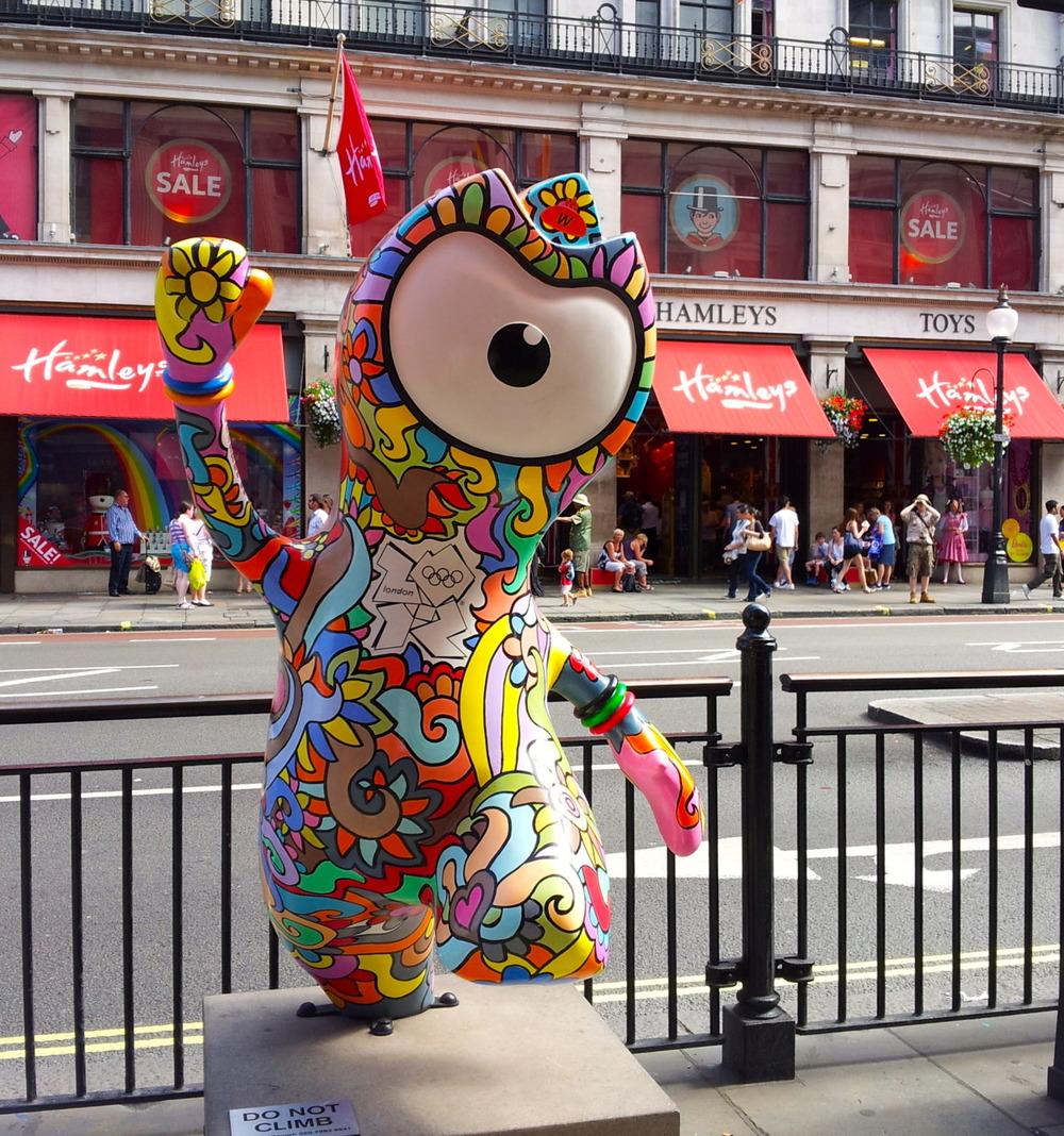 Groovy Wenlock on Regent Street