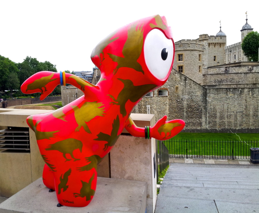 Raven Wenlock at Tower of London