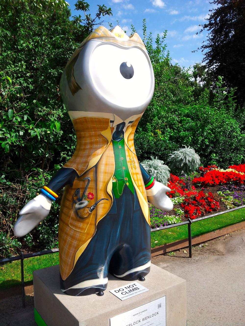 攝政公園裡的神探福爾摩斯文洛克 Sherlock in Regent's Park