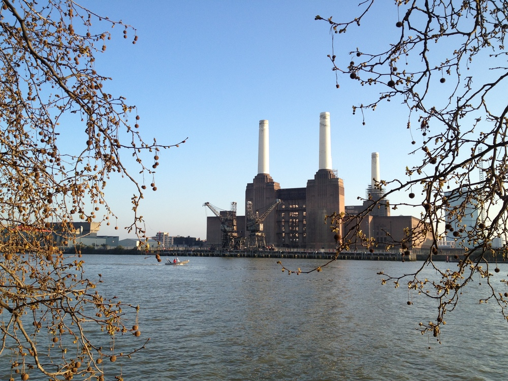The iconic Battersea Power Station.© Eileen Hsieh