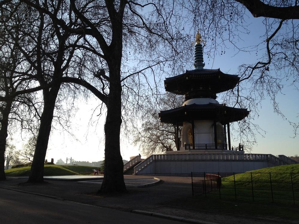 The Peace Pagoda.© Eileen Hsieh
