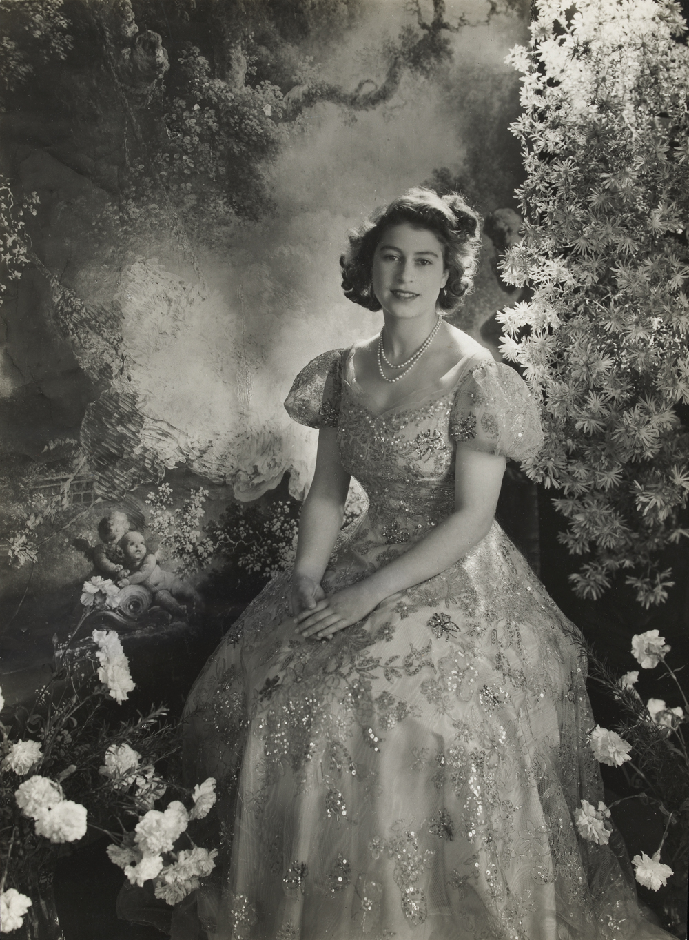 Princess Elizabeth by Cecil Beaton, March 1945. (Image: V&A)