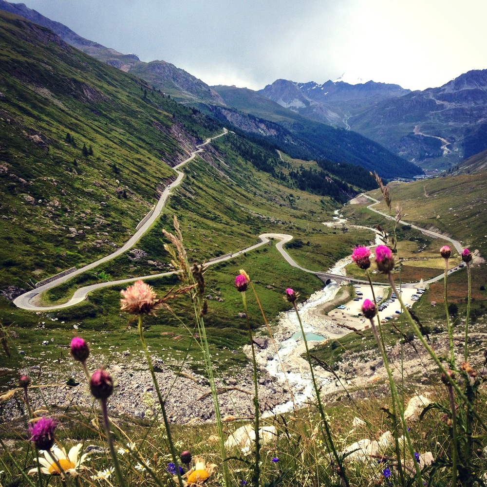 The scenic Col d l'Iseran mountain pass.  © Eileen Hsieh