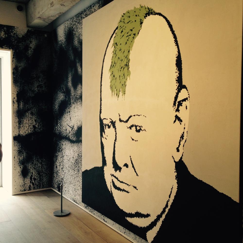 """Churchill"" - Banksy. © Eileen Hsieh"