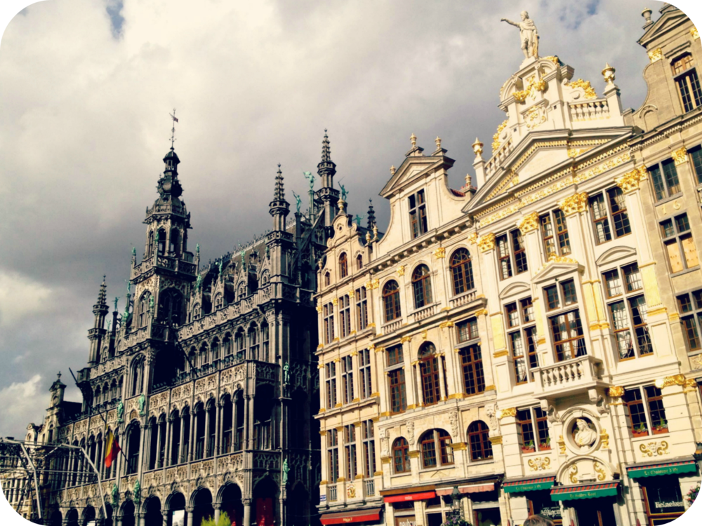 The Grand Place - a UNESCO World Heritage Site. © Eileen Hsieh