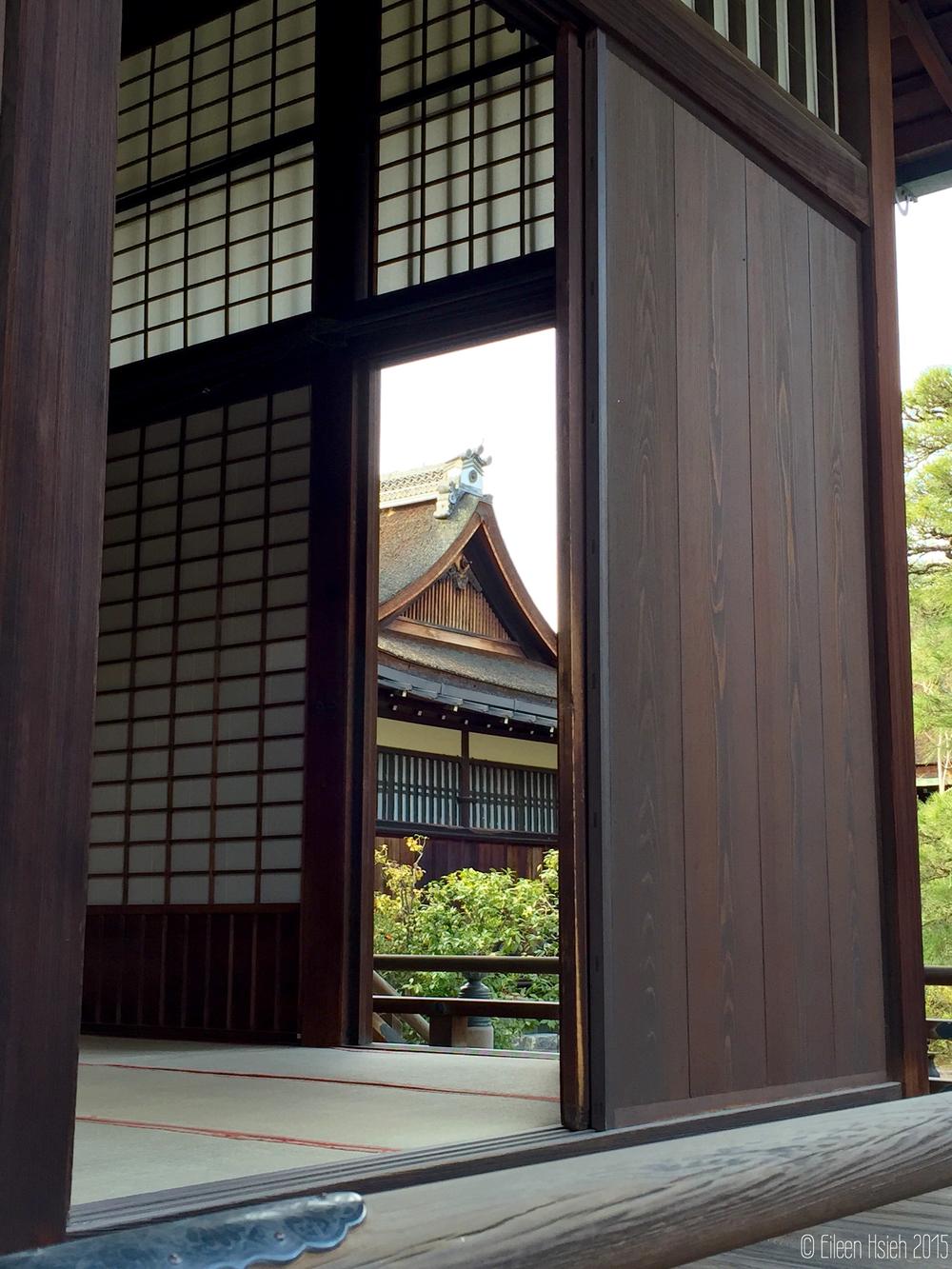 「御常御殿」 書院式風格的榻榻米房間。© Eileen Hsieh