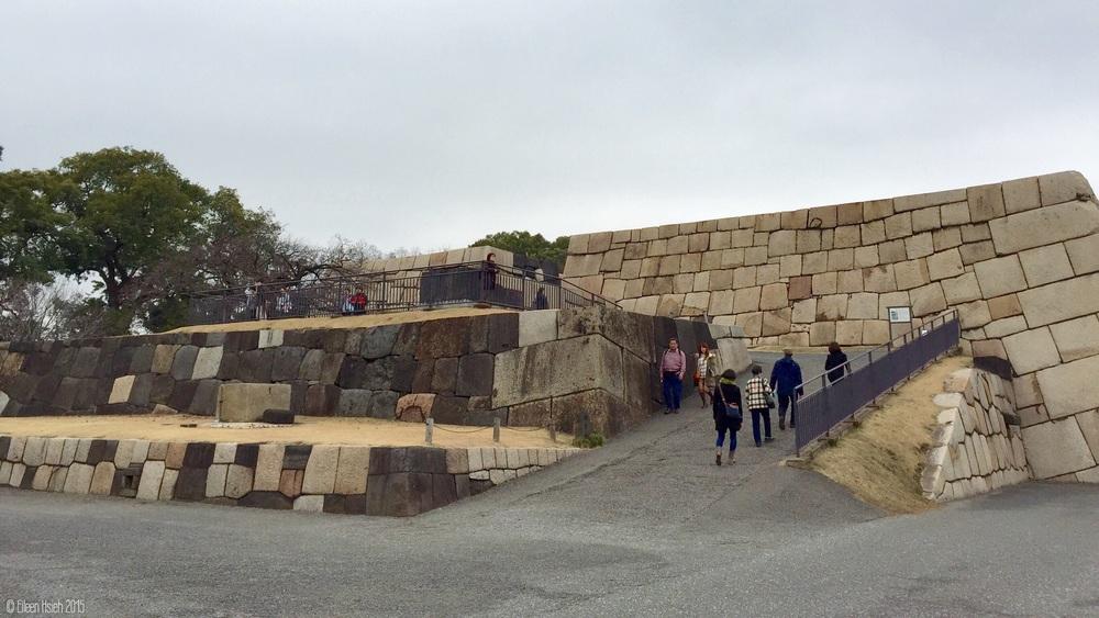 Edo Castle Ruin.江戶城天守閣遺跡。© Eileen Hsieh