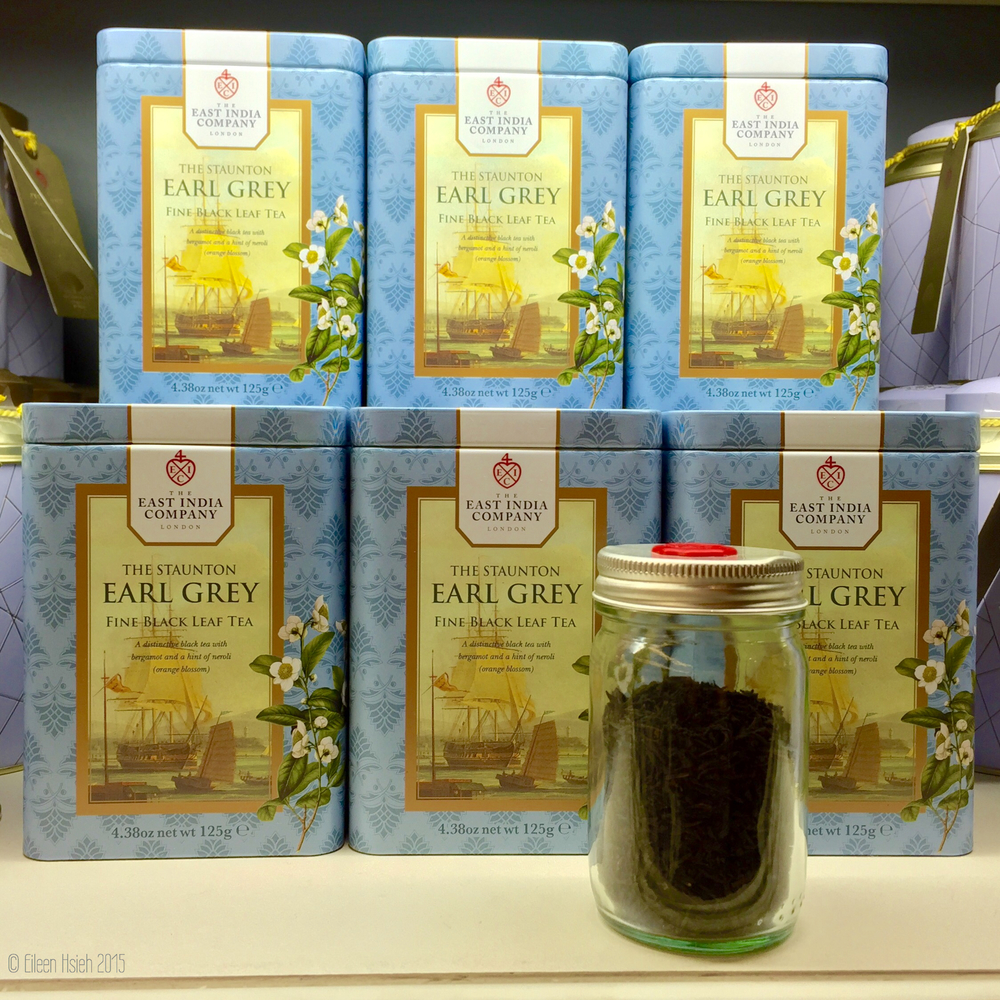 Earl Grey is one of the best selling teas in London. 伯爵茶一直都是最暢銷的口味之一。© Eileen Hsieh